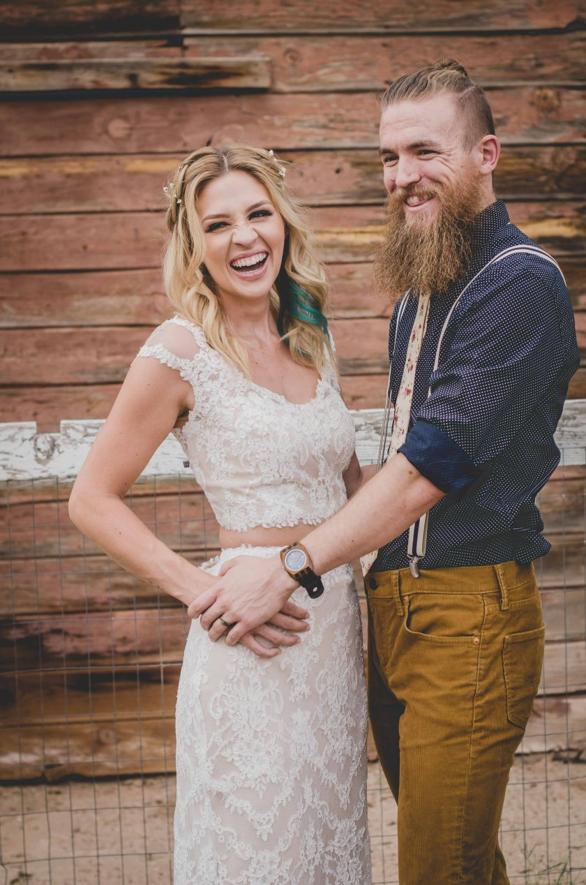 Rustic Arizona wedding