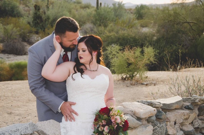 Scorpion Gulch Arizona wedding photography